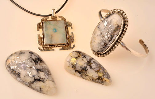 Cody Stone: Gold and silver in quartz